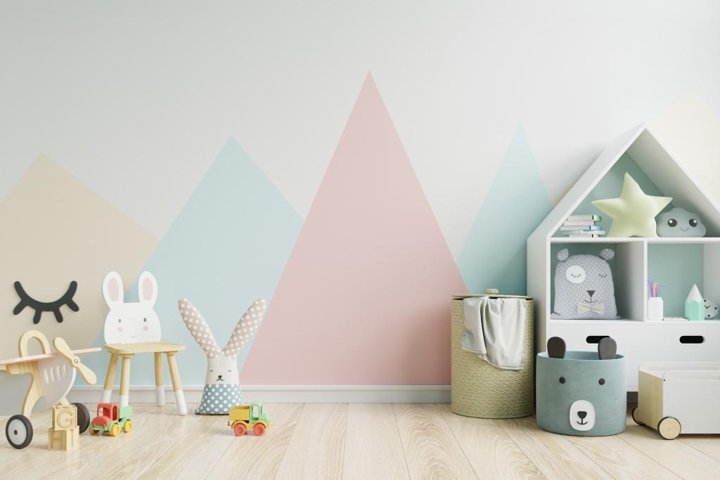 kids room colors pastel